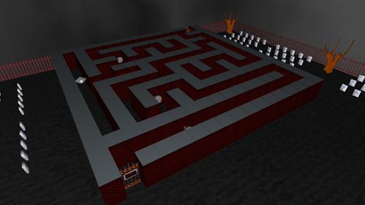 Haunted Cemetery Maze
