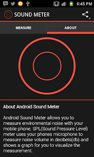 Sound Meter for Android- screenshot thumbnail
