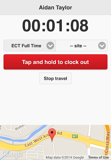 Tanda Clock In