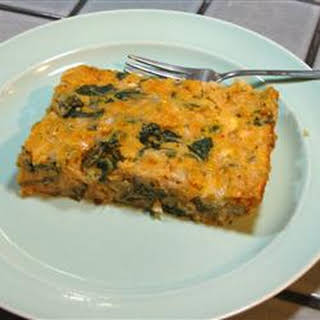 Spinach Egg Casserole Recipes.