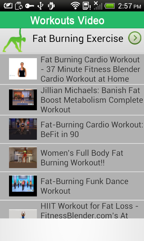 Women Fat Burning Workouts - Android Apps on Google Play