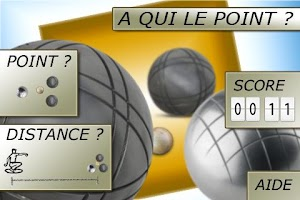 Screenshot of At that point? Petanque tool