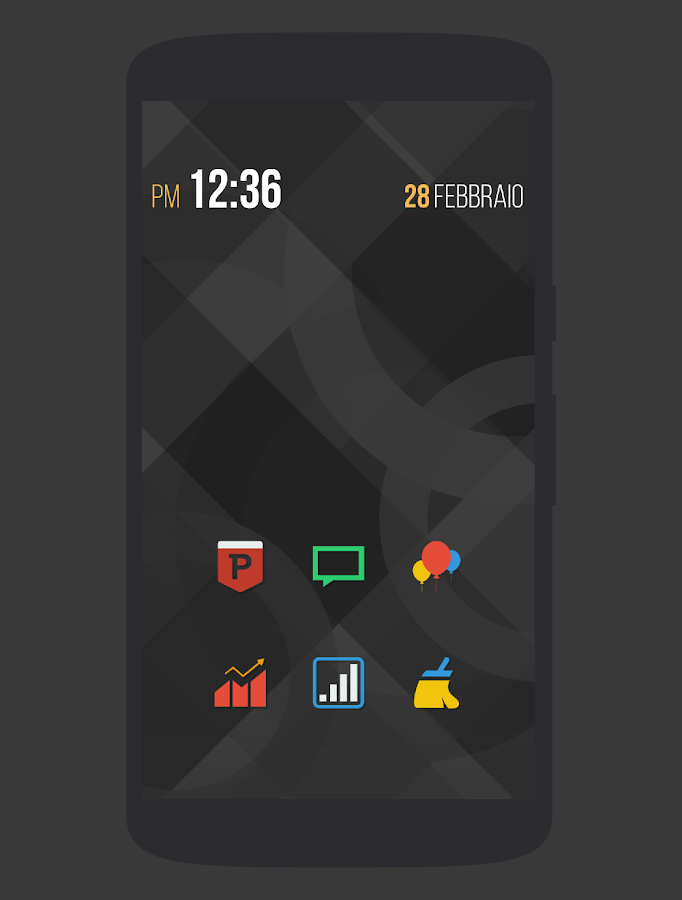 Naxos Taz - Icon Pack- screenshot