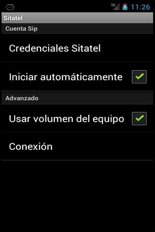 Sitatel Softphone - screenshot