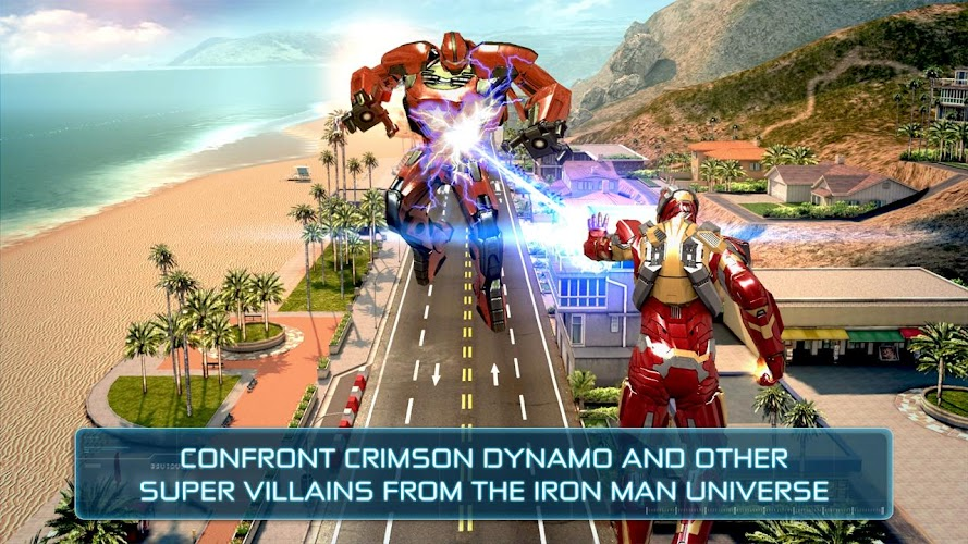Iron Man 3 – The Official Game v1.6.9g Mod & Mega Mod APK - screenshot