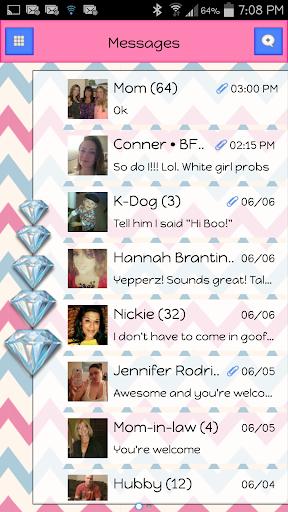 GO SMS - Diamond Blitz 2