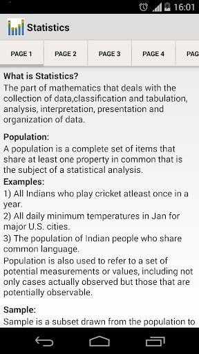 Statistics Basics Pro