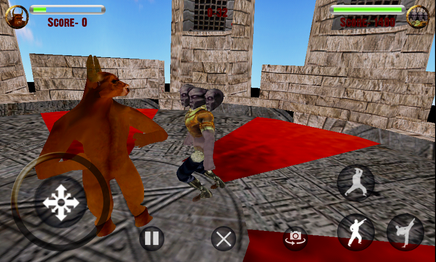 Fight For Glory 3D Combat Game- screenshot