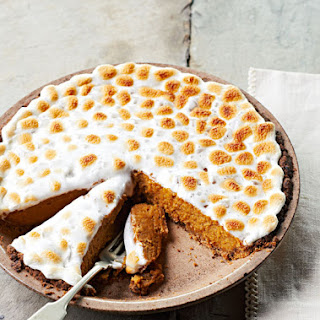 Pumpkin and Sweet Potato Pie