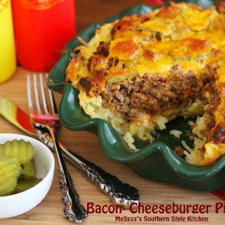 Bacon-Cheeseburger Pie