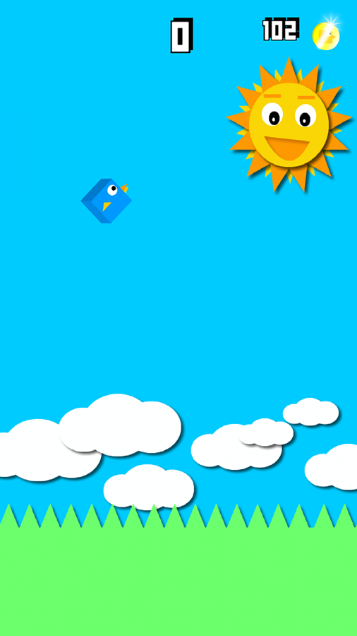 Laser Simulator & Blue Bird - screenshot
