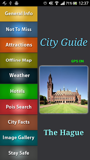 The Hague Offline Travel Guide