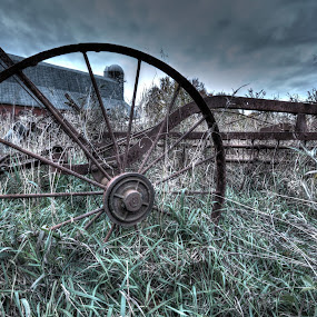 Lost Implements by Nathaniel Beighley - Artistic Objects Other Objects ( farm, photomatix, hdr, barn, nikkor, d600, nikon,  )