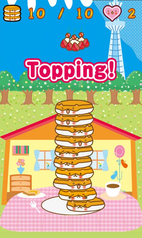 Lovely Pancakes-Hot ham Tower- screenshot