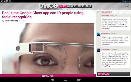 DVICE - screenshot thumbnail