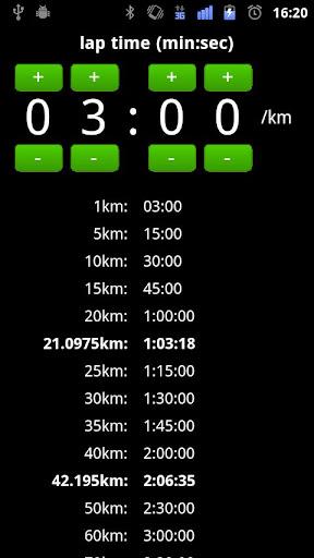 LapCheker - Marathon Running