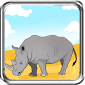 Rhino Race Game