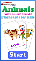 Screenshot of Animal Sounds with Pictures