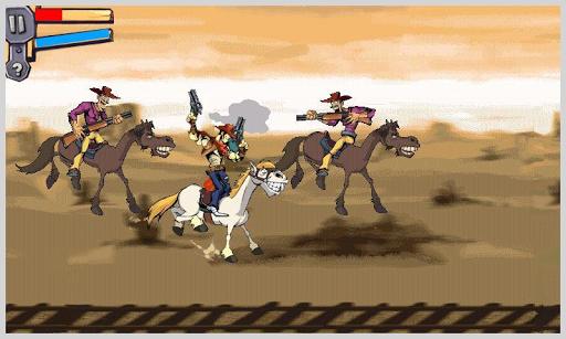 Gunshot Cowboy Fighting