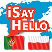 iSayHello Portuguese  - Polish