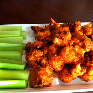 Cauliflower Wings.