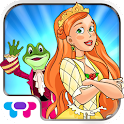 Princess & Frog book for kids icon