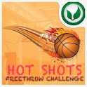 Hotshots Freethrow Challenge logo