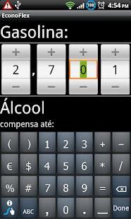 EconoFlex: miniatura da captura de tela