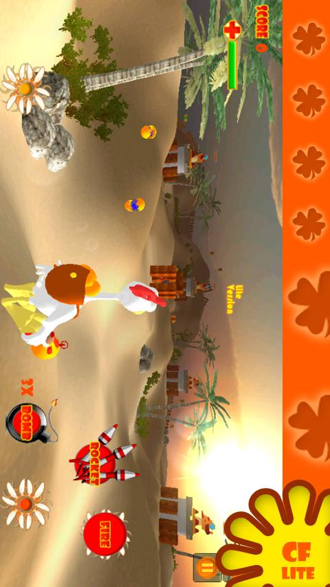 Chicken Fortress 3D Lite- screenshot