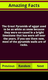 Amazing Facts- screenshot thumbnail