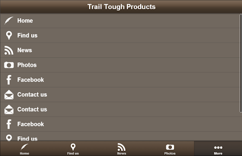 Trail Tough Products- screenshot thumbnail
