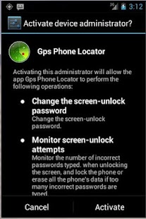 GPS Phone Locator Trial - screenshot thumbnail