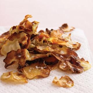 Kohlrabi Chips.