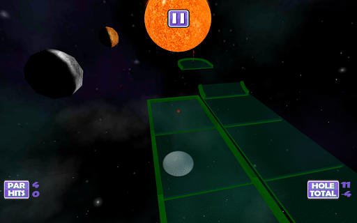 Mini Putt: Space Golf