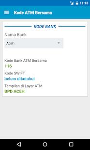 Kode ATM Bersama - screenshot thumbnail