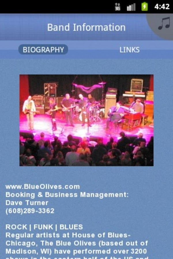 The Blue Olives - screenshot