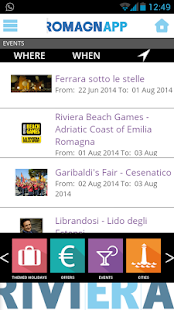 RomagnApp - Events Offers- screenshot thumbnail