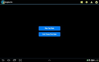 Screenshot of StoryBoard