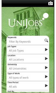 UniJobs UK - screenshot thumbnail