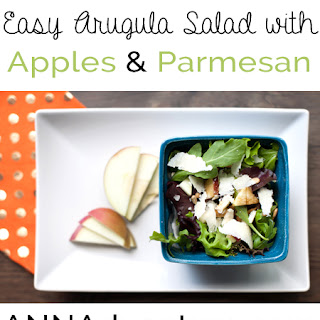 Arugula Salad with Apples and Parmesan Recipe