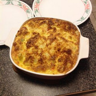 Puffed Cauliflower Cheese