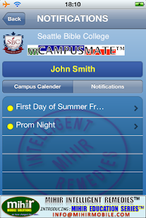 mCAMPUSMATE™ (beta) - screenshot thumbnail