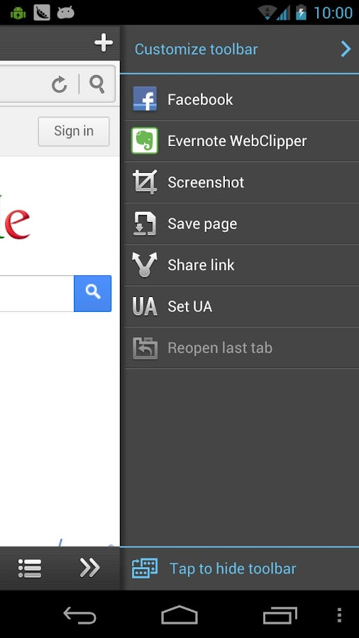 Web Page Clipper for Evernote- screenshot