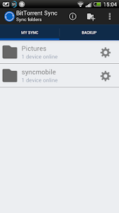 BitTorrent® Sync - screenshot thumbnail