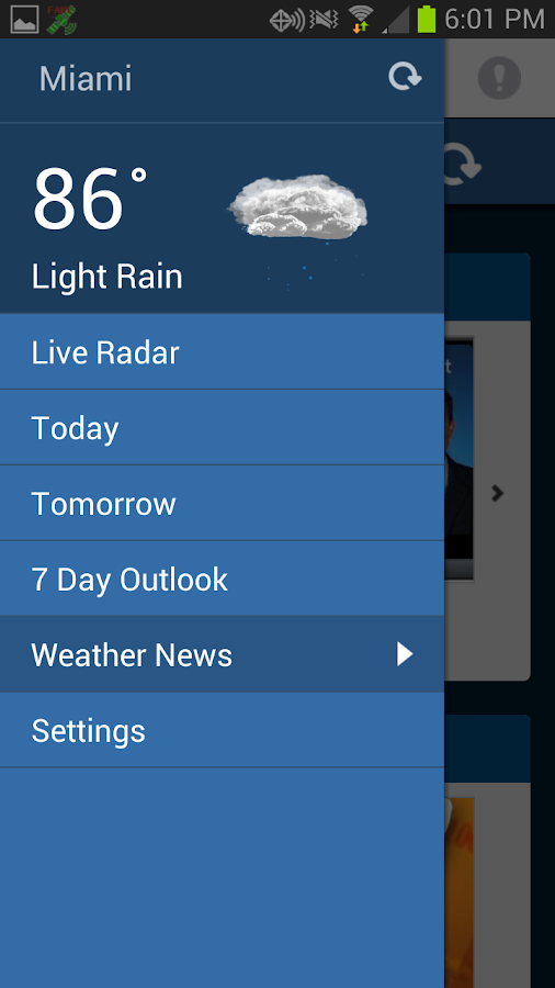 WPLG Local 10 Weather Free App - screenshot