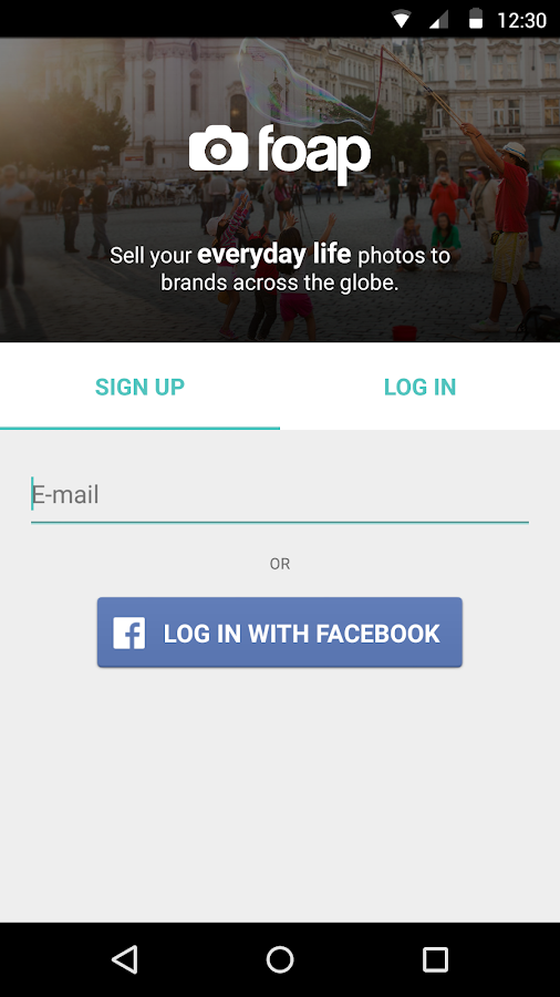 Foap - sell your photos - screenshot