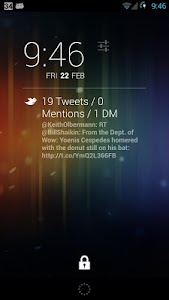 QuickTweets for DashClock screenshot 1
