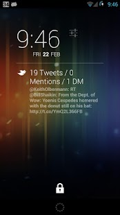 QuickTweets for DashClock- screenshot thumbnail