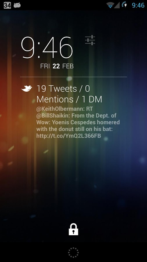 QuickTweets for DashClock - screenshot