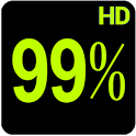 BN Pro Percent-b HD Text icon